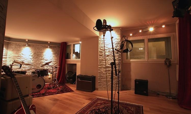 la cabine pour enregistrer à paris Montmartre Recording