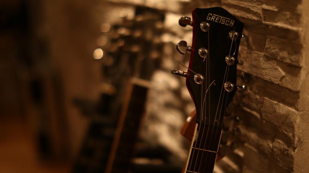 guitare-gretsch-cordes